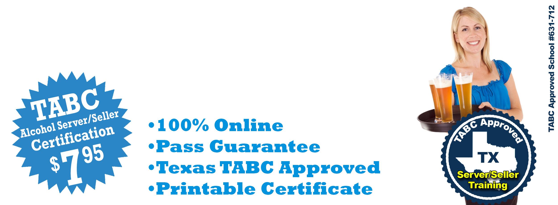 Liquorexam 795 Texas Tabc Alcohol Sellerserver Certification