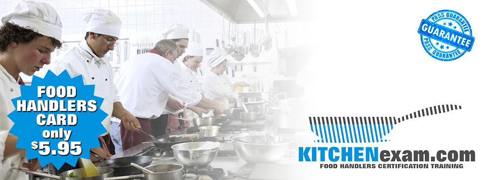 KITCHENexam.com Food Handlers Certification