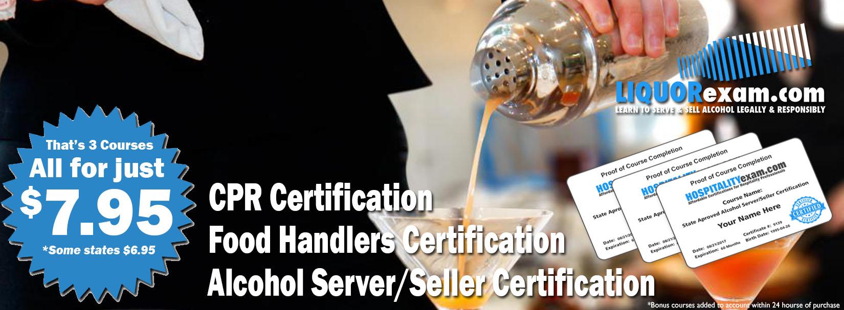 Liquorexam 795 Virginia Alcohol Serverseller